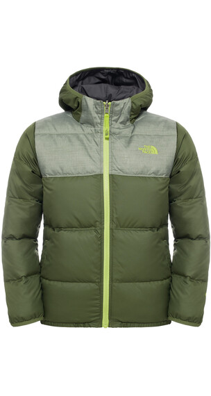 The North Face Boys Rev Moondoggy Jacket Terrarium Green